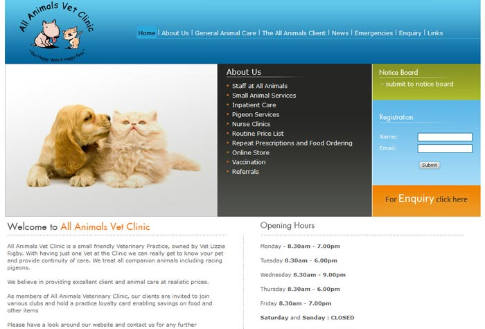 All Animals Veterinary Clinic