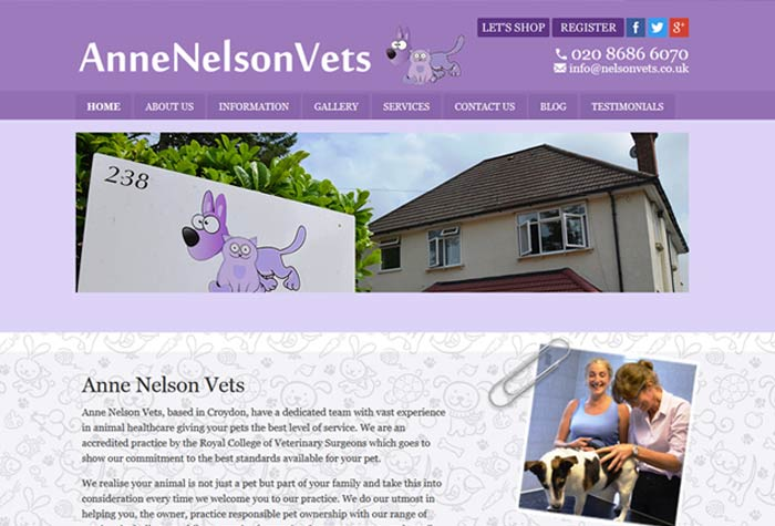 Anne Nelson Vets