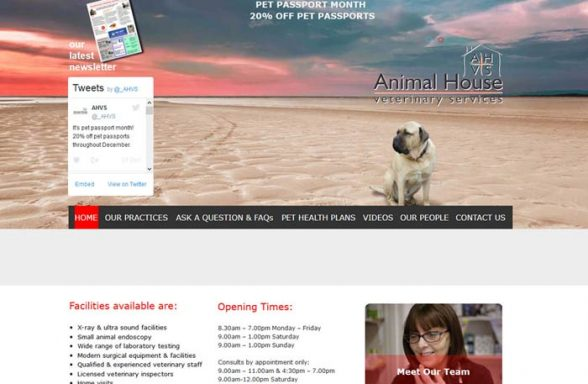 Animal House Vet Services
