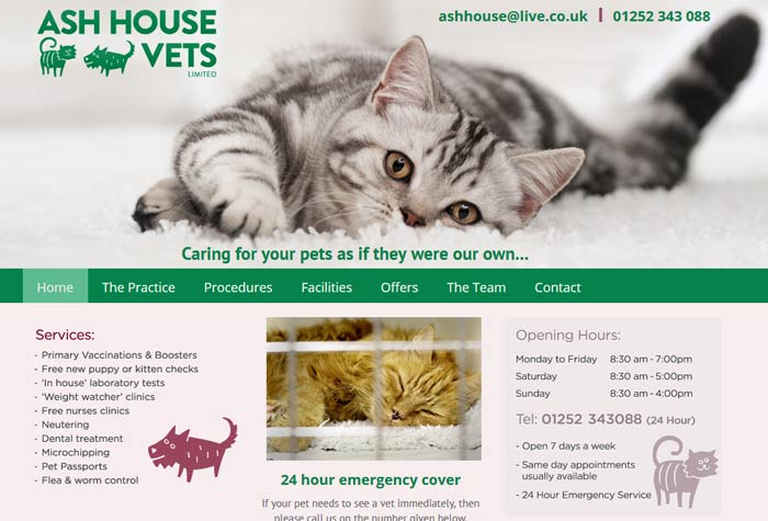 Ash House Veterinary Clinic