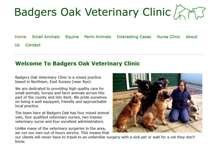 Badgers Oak Veterinary Clinic