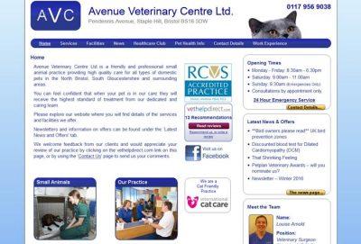 Avenue Veterinary Centre Ltd