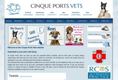 Cinque Ports Veterinary Centre