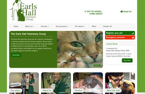 Earls Hall Veterinary Group