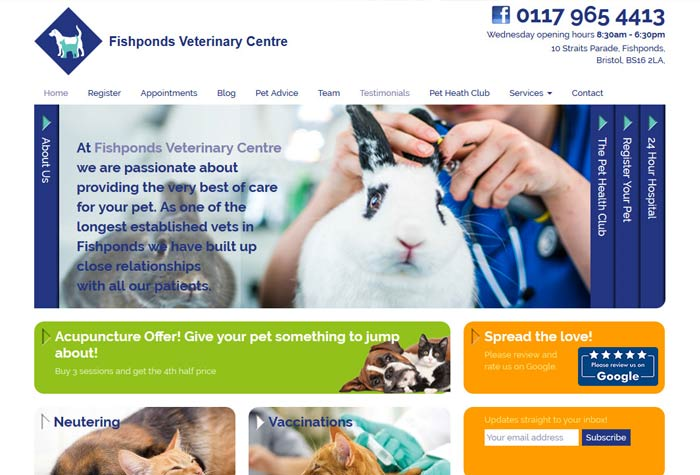 Fishponds Veterinary Centre