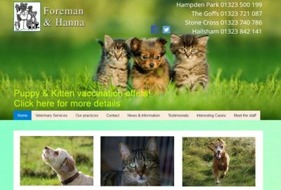 Foreman and Hanna Veterinary Surgeons