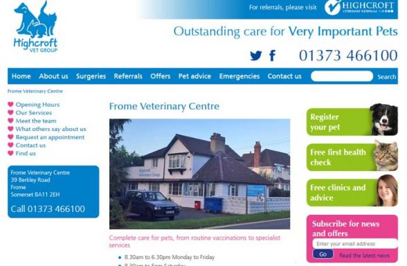Frome Veterinary Centre