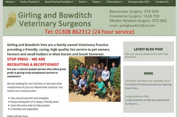 Girling and Bowditch Veterinary Surgeons