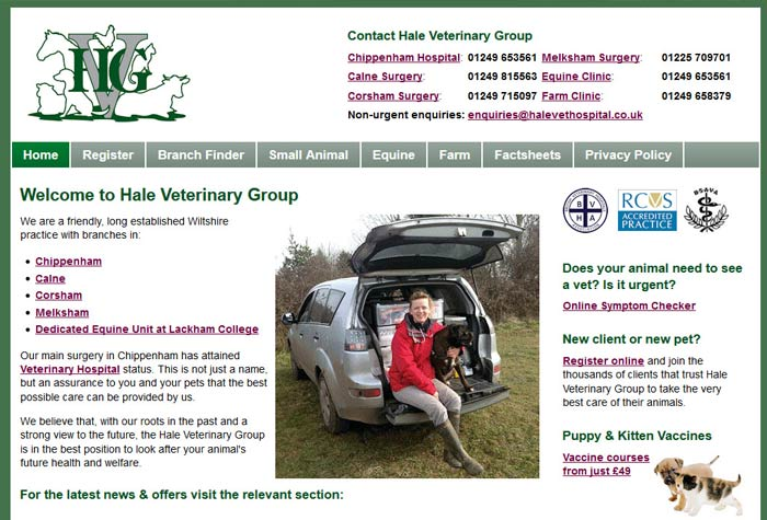The Hale Veterinary Group