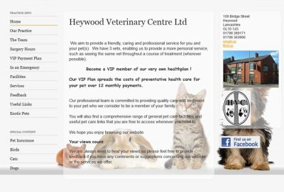 Heywood Veterinary Centre