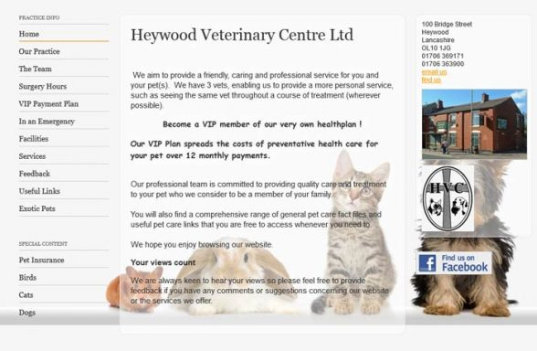 Heywood Veterinary Centre