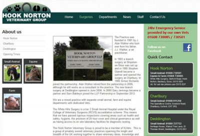 Hook Norton Veterinary Group