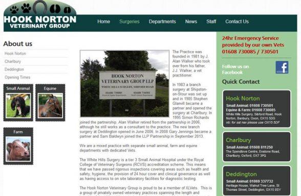 Hook Norton Veterinary Group