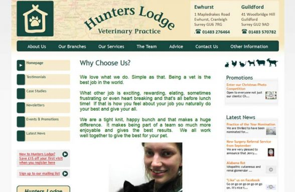Hunters Lodge Veterinary Practice