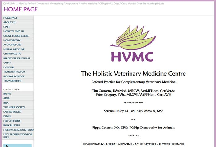 The Holistic Veterinary Medicine Centre