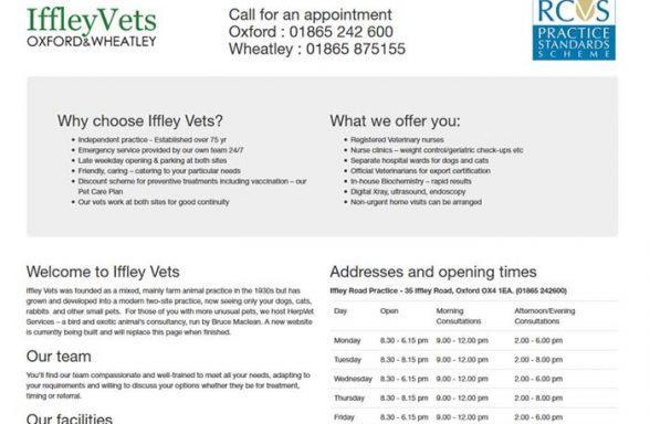 Iffley Vets