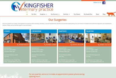Kingfisher Veterinary Practice