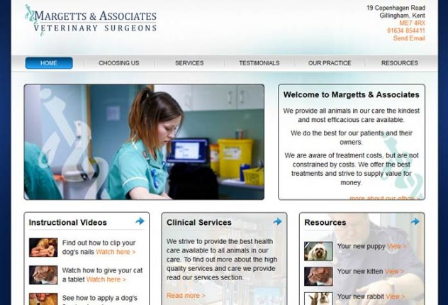 Margetts and Associates Veterinary Surgeons