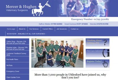 Mercer And Hughes Veterinary Surgery