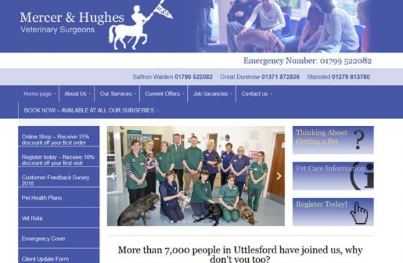 Mercer And Hughes Veterinary Surgery