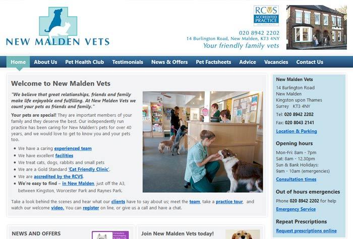 New Malden Vets