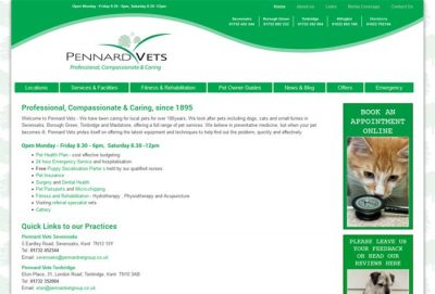 Pennard Vets Borough Green