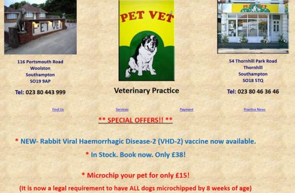 Pet Vet Ltd