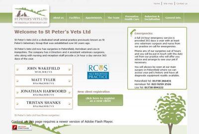 St Peter's Veterinary Group