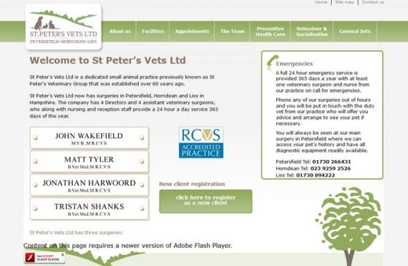 St Peter's Veterinary Group