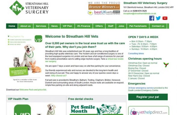 Streatham Hill Veterinary Surgery