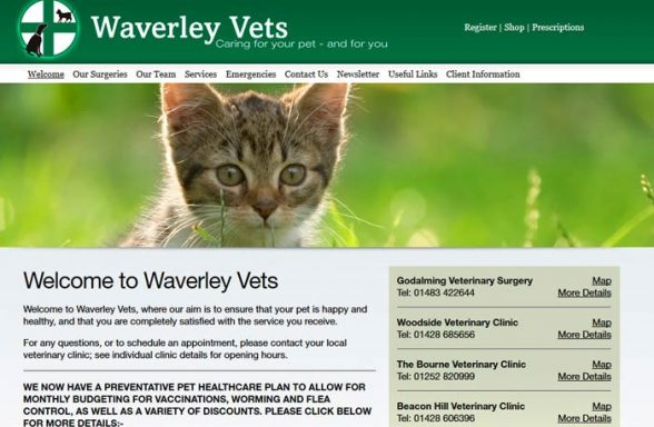 Waverley - Shortheath Veterinary Surgery