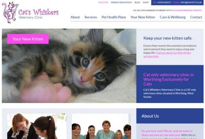 Cat's Whiskers Veterinary Clinic