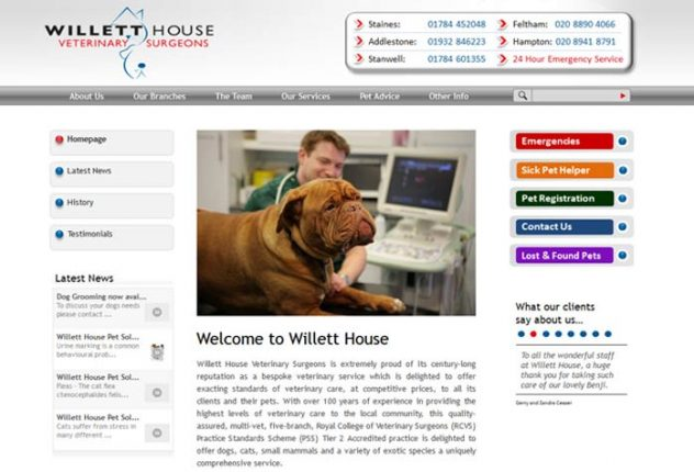 Willett House Veterinary Surgeons