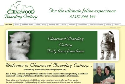 Clearwood Boarding Cattery