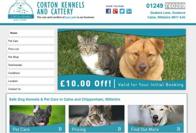 Corton Kennels & Cattery