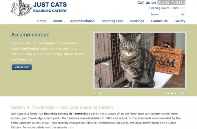 Just Cats Boarding Cattery