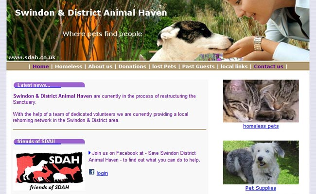 Swindon and District Animal Haven - Swindon