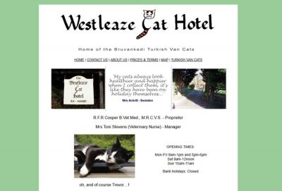 West Leaze Cat Hotel