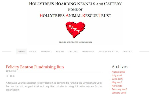Holly Trees Rescue Centre - Birmingham
