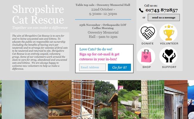 Shropshire Cat Rescue - Shrewsbury