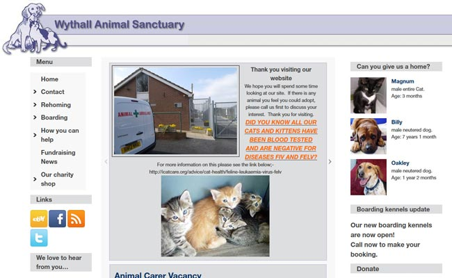Wythall Animal Sanctuary - Birmingham
