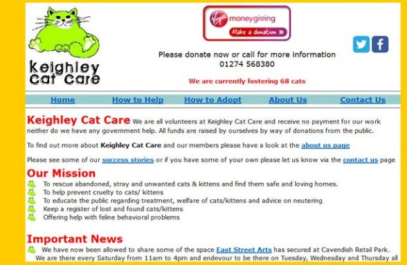 Yorkshire Cat Rescue Keighley