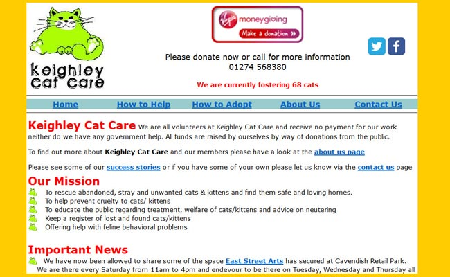 Keighley Cat Care - Bingley