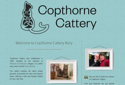copthorne cattery, bury