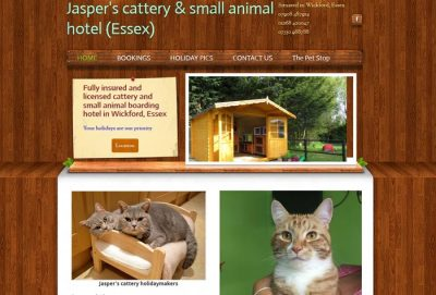 Jasper's Cattery, Wickford