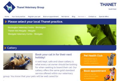 kent-thanet vets cattery