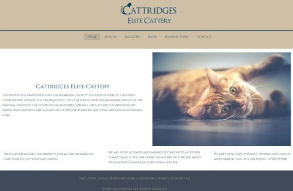 cattridges cattery - essex