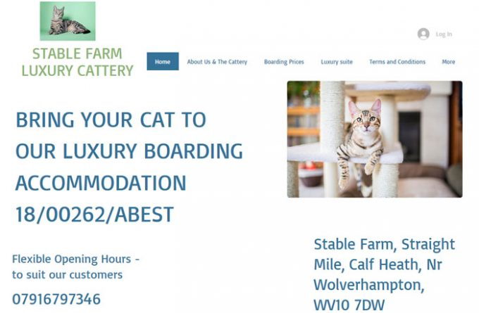 Stable Farm Cattery Wolverhampton